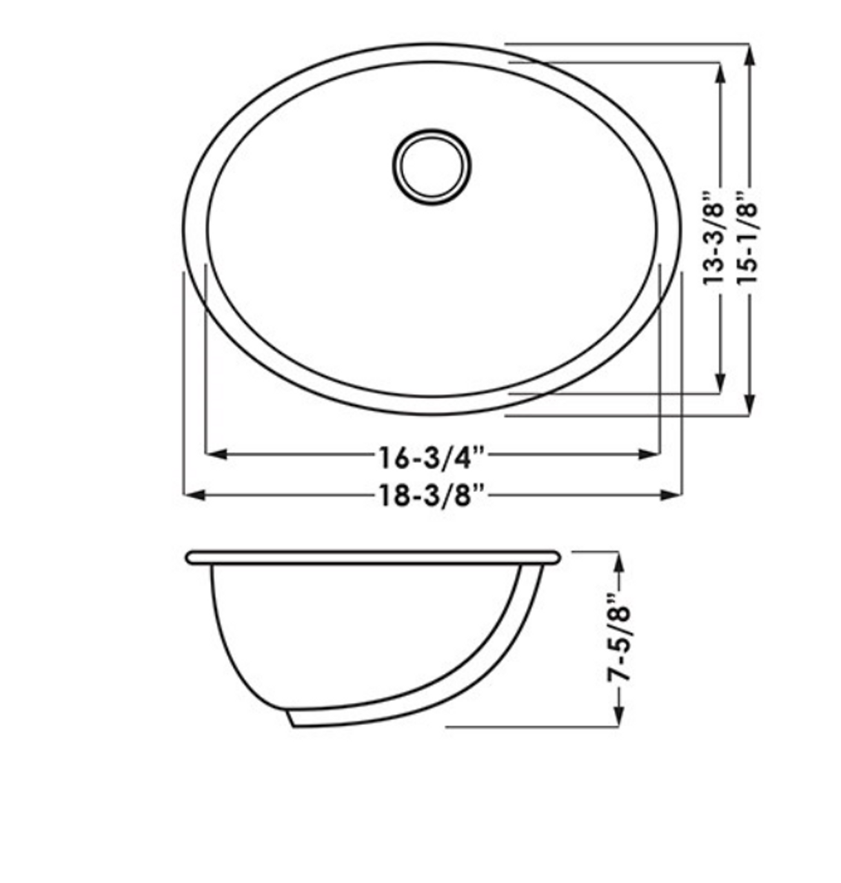 16X13 Oval UM Lav