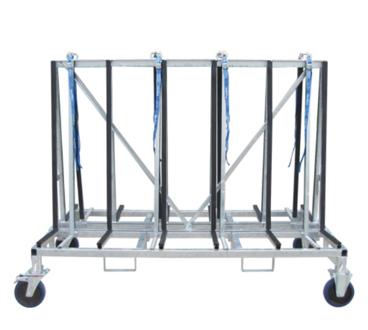 Weha Double Sided A frame Transport Cart Small 6 foot