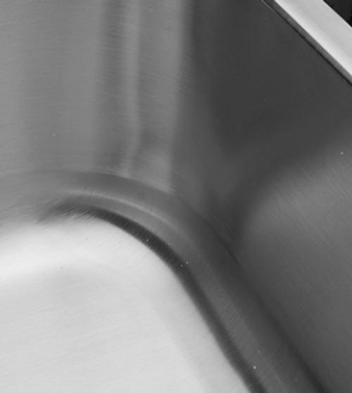 Crescent Stainless Steel Sink 16x16 Bar Sink 18g