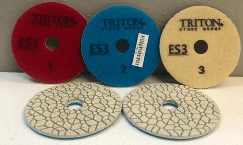 Triton ES 3 Step Pad 4 inch wet/dry