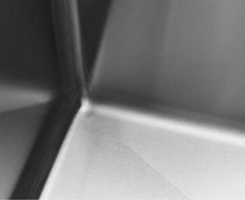 SSMR 30x18 Single Bowl Micro Radius 16g Stainless Steel Sink