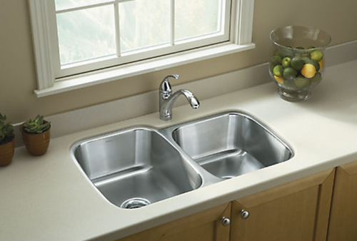Sterling McAllister 32x21x8 18g 60/40 Kitchen Sink - Stainless