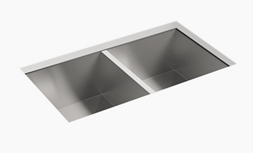 Sterling Ludington 18g 50/50 Kitchen Sink - Stainless