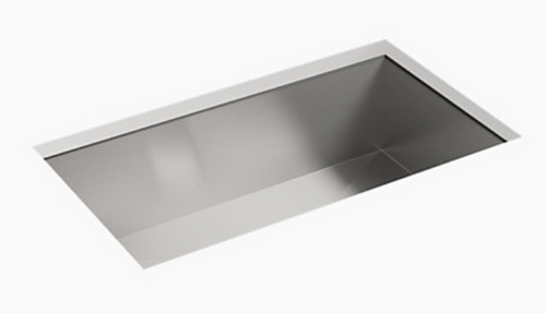 Sterling Ludington 32x18x9 18g Single Bowl Sink - Stainless