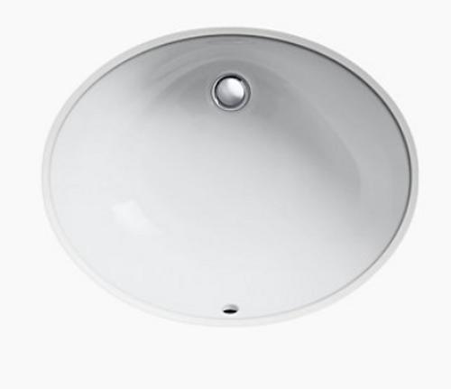 Kohler Caxton 22x11 Lavatory Bowl White