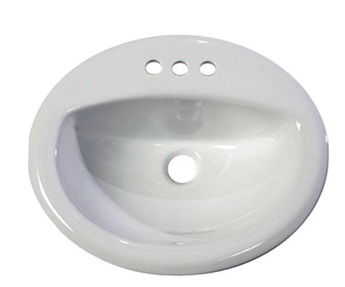 20x17 Drop-In Lavatory Sink