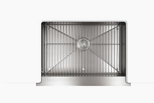 Kohler Vault 29-1/2x21-1/4x9-5/16 Under-Mount Apron Front Single-Bowl Kitchen Sink - Stainless Steel