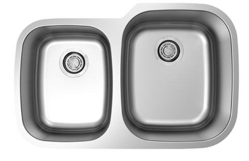 Dakota Genesis Series 40/60 18g Stainless Steel Sink