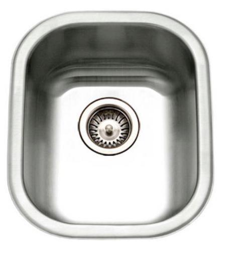 Crescent Stainless Steel Sink 15x12 Bar Sink 18g
