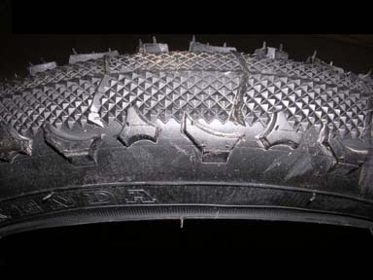 BOB Sport Utility Stroller Tire - Tread Pattern Close Up