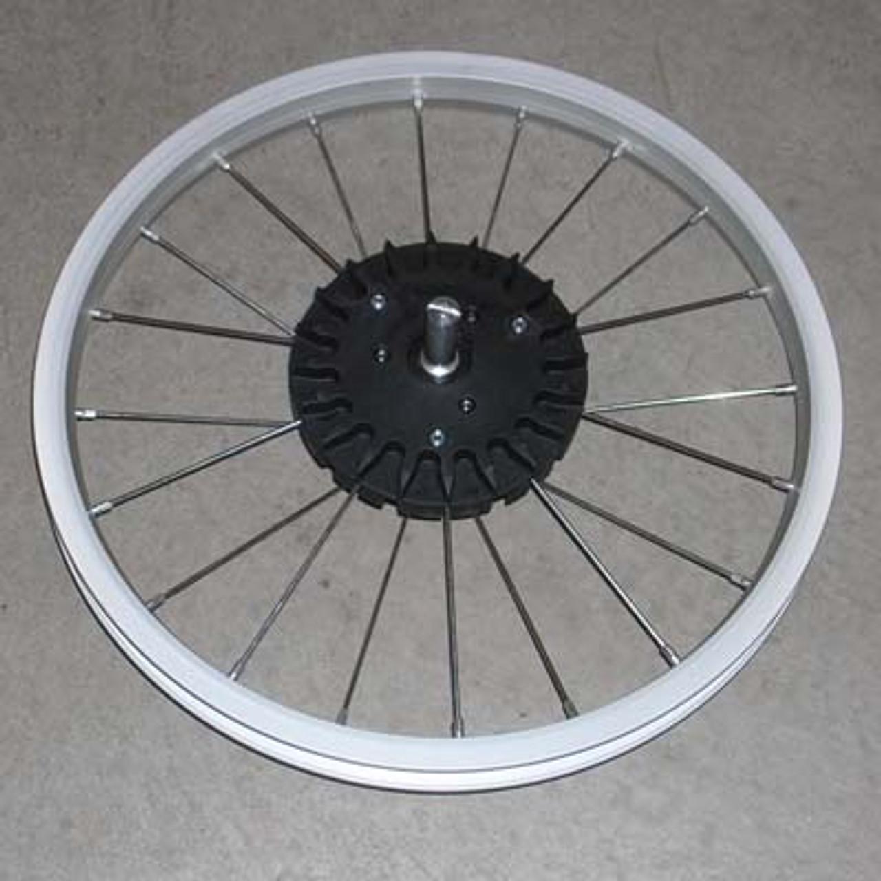 "Wheel, DLX Ironman, Rear Alum 16"" 2005-2015"