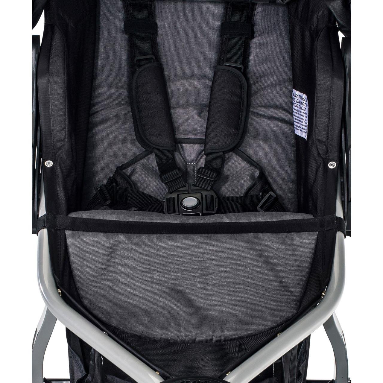 BOB Rambler Seat Single/Black (canopy & lowboy sold separately)
