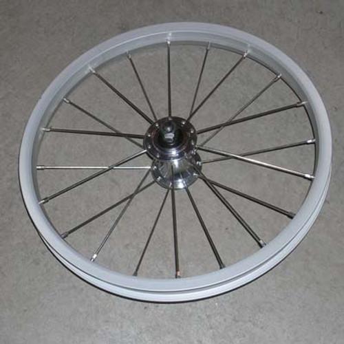 """Wheel, SUS/DUAL, Front Alum 16"""""""