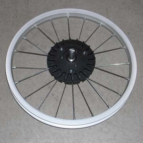 "Wheel, DLX Iron 07, Rear Alum 16"" 2005-2015"