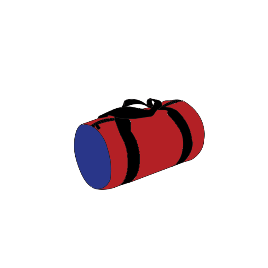 Custom Round Duffel Bag