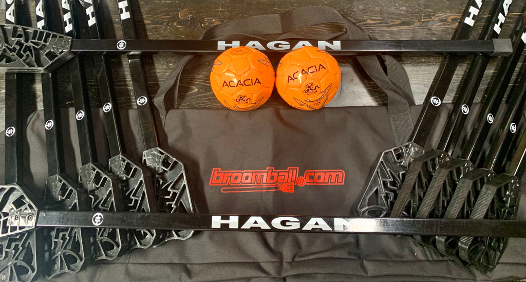 Hagan Gym Broomball Package