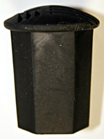 Rubber Broom End Cap