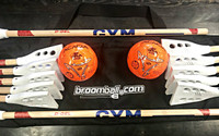 Gym Broomball Set