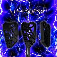 H-4 Surge Broom Head - Fits Hockey Shafts