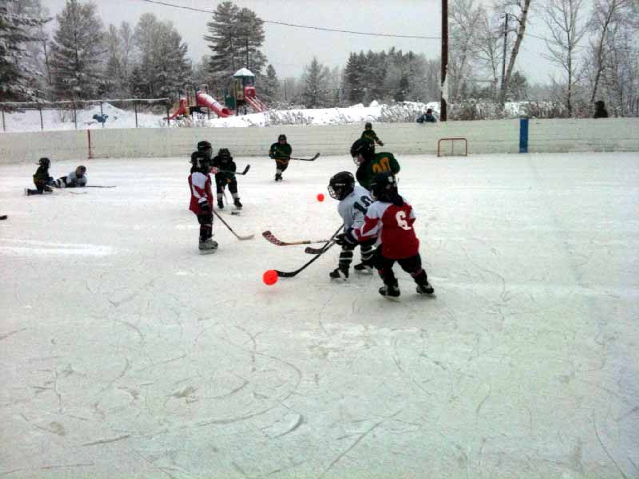 A Broomball Saves the Hockey Tourney!
