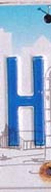 License Plate Letter H