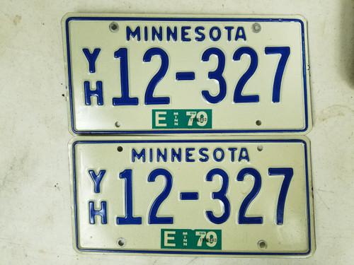 1979 Minnesota License Plate 12-367 Pair