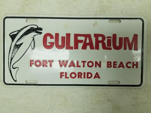Gulfarium Fort Walton Beach Florida Booster License Plate