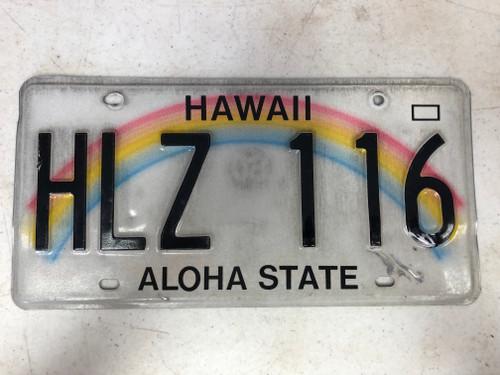 2008 HAWAII Aloha State License Plate HLZ-116