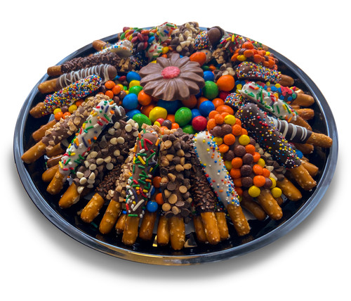 55 Piece Kid Stick Platter