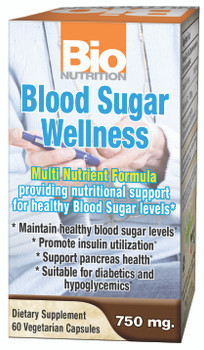 Blood sugar wellness