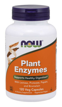 Plant enzymes lactase proteas, papain bromelain