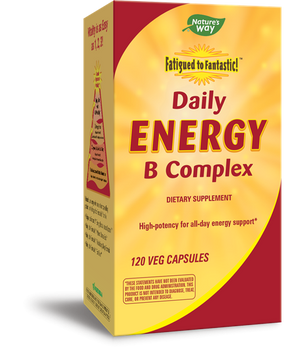 Daily Energy B Complex 120 Veg Capsules