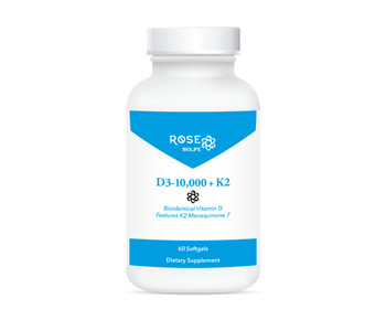 D3-10,000 + K2™, 60 sfgl Immune & Bone Health Support*
