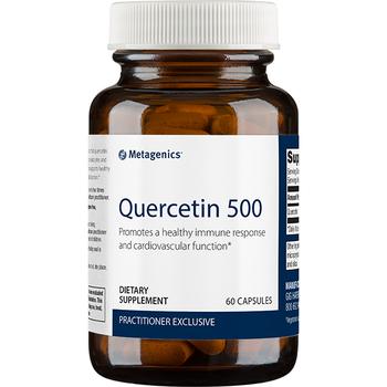 quercetin 500mg 60 capsules metagenics