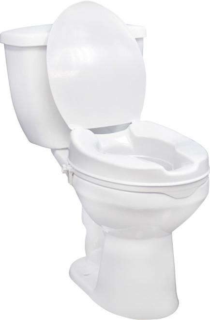 Mk raised toilet seat