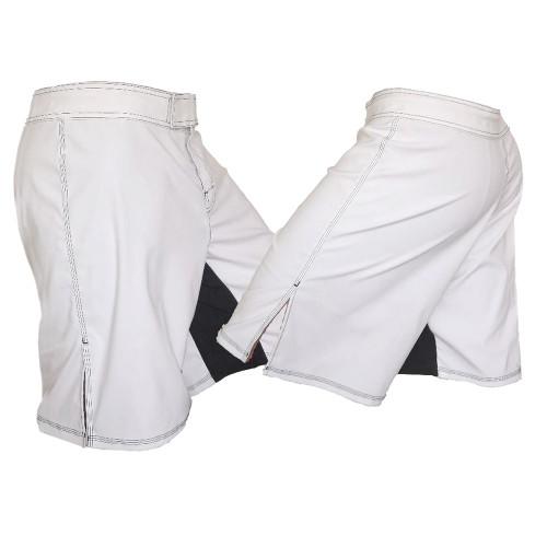 White MMA Fight Shorts
