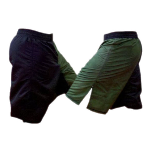 Black and Green MMA Fight Shorts