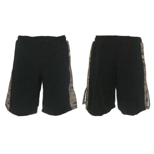 MultiCam Stripe MMA Fight Shorts