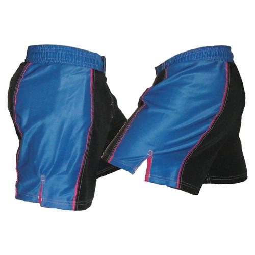 Blue Stripe Female Fight Shorts