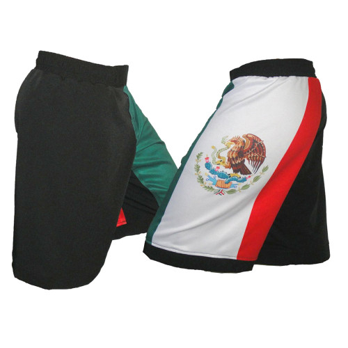 Mexico Flag MMA Fight Shorts