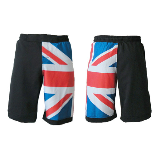 United Kingdom Flag MMA Fight Shorts