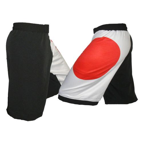 Japan Flag MMA Fight Shorts