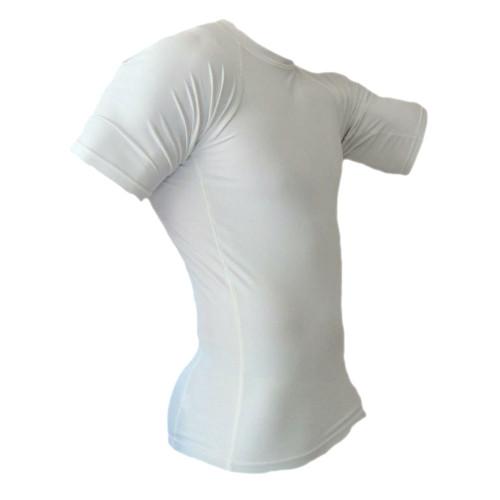 White Rash Guard MMA Shirt