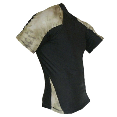 Advanced Tactical Camo ATACS Forest Green Rash Guard MMA Shirt