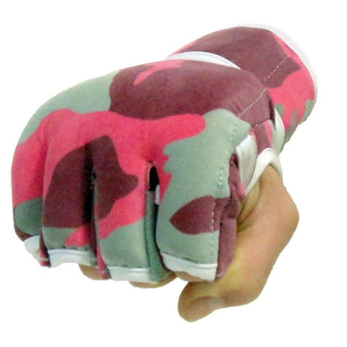 Pink Camo MMA Gloves