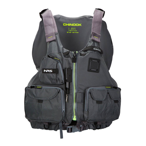 NRS Chinook Charcoal - Front