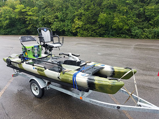 The 360 Angler From Blue Sky Boatworks Supreme Stability And Comfort In A Human-Powered Watercraft