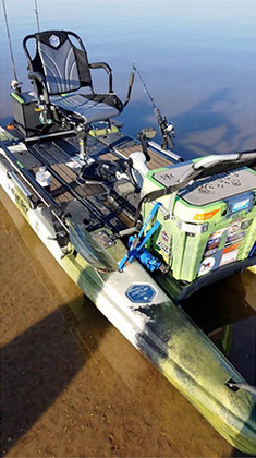 Darrell Klein's Rigging For Fishing on the Blue Sky Boatworks 360 Angler