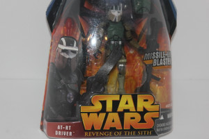 AT-RT Driver Star Wars Action Figure from Revenge of the Sith Line NIP