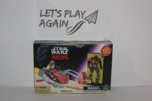 Star Wars SWOOP Vehicle with Exclusive Swoop Trooper from Shadows of The Empire Line NIP